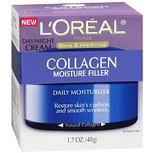 17% OFF! L'Oreal Paris Collagen Moisture Filler Day/Night Cream offered at $9.57 by Amazon