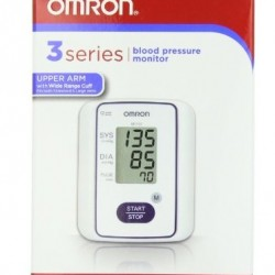 47% OFF! Omron 3 Series Automatic Blood Pressure Monitor offered at $27.79 by Amazon