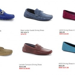 Up to 50% OFF! Men's Driving Shoes Promotion by ASOS