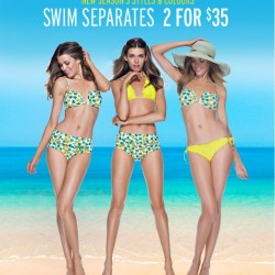 2 for S$35! Swim Separates Online Sale at Cotton On