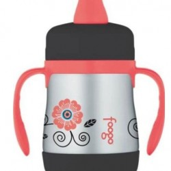 19% OFF! Thermos Foogo Phases Stainless Steel Sippy Cup offered at $14.61 by Amazon