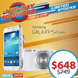 ONLY at S$648! Samsung GALAXY S4 Zoom offered by deal.com.sg