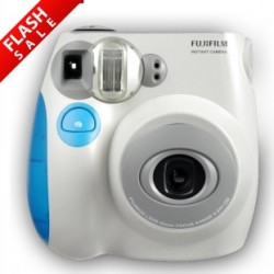 Only at S$59! FUJI INSTAX MINI 7S (BLUE/PINK) Promtion by Deal.com.sg