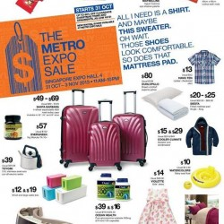 THE METRO EXPO SALE @ Singapore Expo