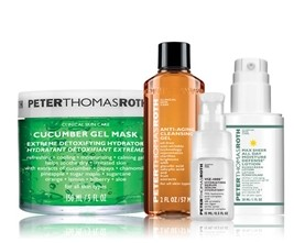 Only $44.75! Peter Thomas Roth Cucumber Detox 4 Piece Kit offered by Amazon