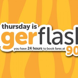 Up to 90% OFF! Tigerair Thursday Flash Sale