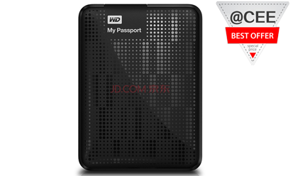 35.1% OFF! WD My Passport Ultra-portable mobile hard disk offered at S$89 by JD Singapore
