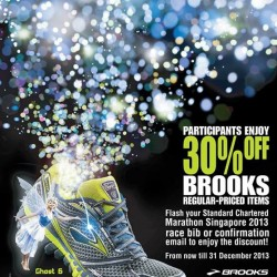 30% Off Brooks Shoes at World Of Sports