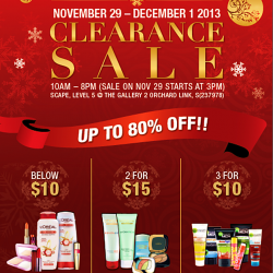 Up to 80% OFF! L'Oréal Clearance Sale 2013