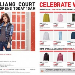 Special offer from UNIQLO