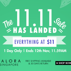 Everything at S$11 Sale at Zalora