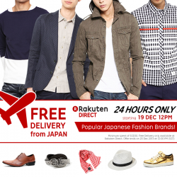 FREE Delivery From Japan @ Rakuten Singapore