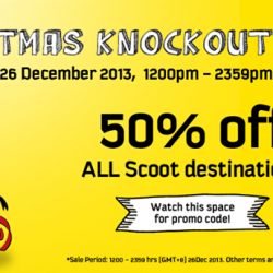 Christmas Knockout Sale at Scoot