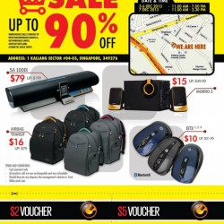 Up To 90% Discounts On PC Speakers & Accessories! Sonic Gear Warehouse Sale