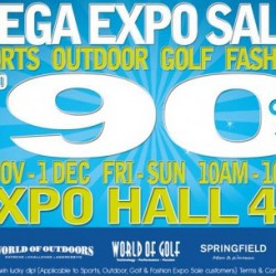 Up To 90% Off! Sports Outdoor Golf Fashion Mega Expo Sale by World Of Sports