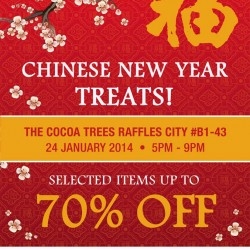 The Cocoa Trees Singapore Chinese New Year Treats Flash Sale January 2014