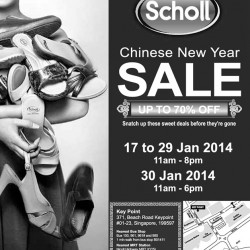 Scholl Singapore Chinese New Year Sale 2014