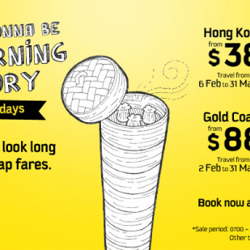 Scoot: MORNING GLORY Tuesday Promotion