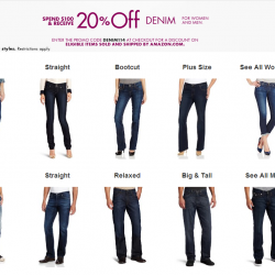 Amazon Denim for men and women Promotion