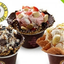 Cream Buffet at Marble Slab Creamery
