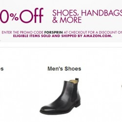 Amazon Shoes & Handbags Promotion