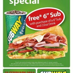 Subway Anniversary  @ Republic Plaza