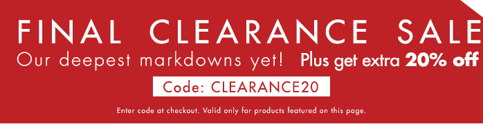 Zalora | Additional 20% OFF Clearance Items