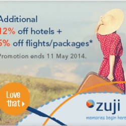 Zuji Singapore | Coupons for Hotel and Flights Booking