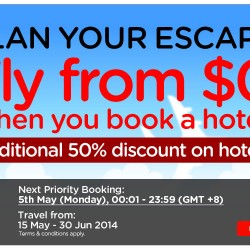 AirAsia Go | Free Flight + 50% OFF Hotels