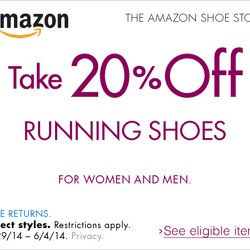 Amazon | 20% OFF Running Shoes