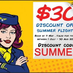 Cheaptickets.sg | S$30 OFF Summer Flights