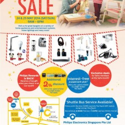 Philips Electronics Singapore   Carnival Sale May 2014