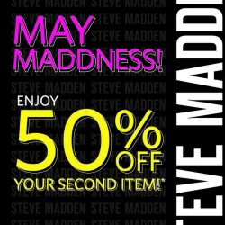 Steve Madden Singapore | 50% off on your 2nd item purchase