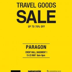 The Planet Traveller | The Travel Goods Sale @ PARAGON