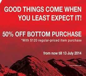 The North Face | 50% off bottom purchase