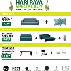 LUSH furniture | Hari Raya special buys
