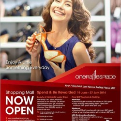 One Raffles Place | Opening special rewards