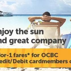 Tiger Air | 1-for-1 airfares for OCBC Cardmembers