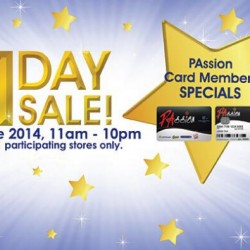 Guardian Singapore | 1 Day Sale Passion Card Member Specials