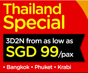 AirAsiaGo | Thailand travel package from $99/pax