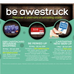 "Bedok Mall | GSS ""Be awestruck"" Promotion"