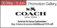Isetan Scotts | Up to 50% OFF Coach Sale