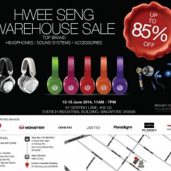 Hwee Seng | Audio & Headphones Warehouse Sale 2014