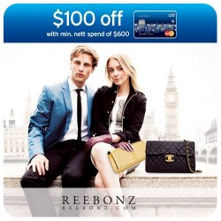 Reebonz | Get S$100 OFF with CitiBank