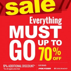 Rodalink   move-out store clearance sale at Thomson Plaza