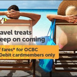 Tiger Air | GSS 20% off airfares for OCBC Cardmembers