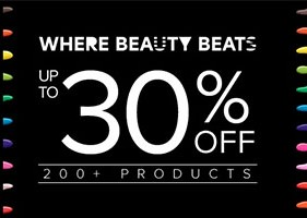 Zalora | 30% off Sephora products + free pouch
