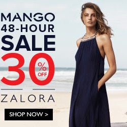 Zalora | Mango 48-Hour Sale + Additional 15% OFF