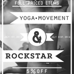 Yoga Movement | 10% off regular items & 5% off sale items