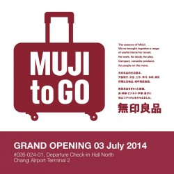 Muji | New store at Changi airport T2 opening special